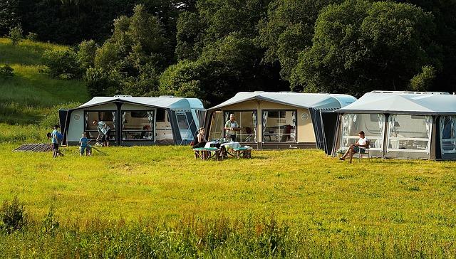 Wifi på campingpladsen er et plus