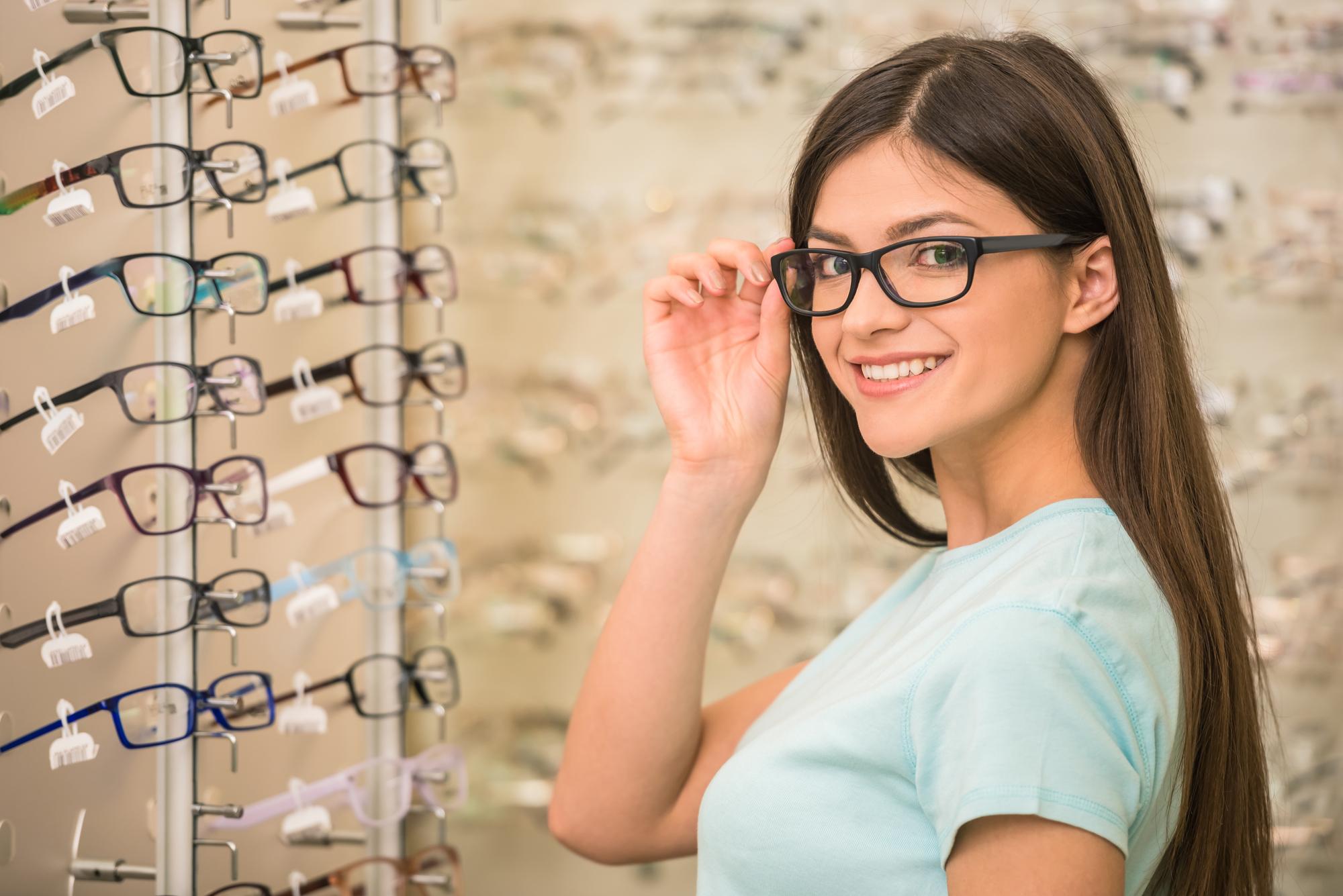 Vælg briller ud fra dit ansigt